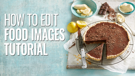 RETOUCHING FOOD IMAGES TUTORIAL