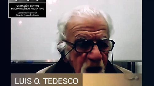 LUIS O. TEDESCO | HABLAR ES YA ESCRIBIR. PRIMERO ESCRIBIR, LUEGO PENSAR