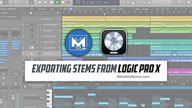 Exporting Stems from Logic Pro X