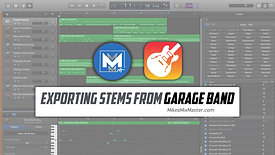 Export Stems from Garage Band