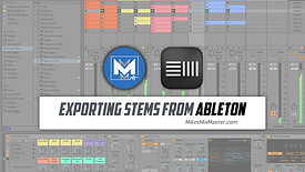 Exporting Stems from Ableton Live