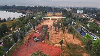 La obra que amenaza Xochimilco