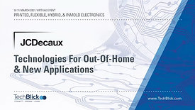 10 March | JCDecaux | Technologies For Out-Of-Home & New Applications (Teaser)