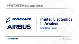 12 May 2021 | Printed Electronics In Aviation |  End User Panel (Teaser)