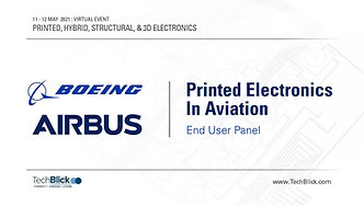 12 May 2021   Printed Electronics In Aviation    End User Panel (Teaser)