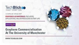 15 April 2021 | Graphene@Manchester | Graphene Commercialisation At The University Of Manchester | Teaser