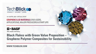 14 April 2021   BASF   Black Flakes With Green Value Proposition – Graphene Polymer Composites For Sustainability   Teaser