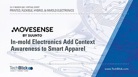 11 March | Movesense By Suunto Oy | In-Mold Electronics Add Context Awareness To Smart Apparel (Teaser)