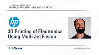 12 May 2021   HP - 3D Printing Of Electronics Using Multi Jet Fusion (Teaser)