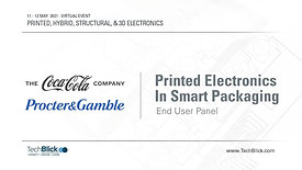11 May 2021 | Printed Electronics In Smart Packaging | End User Panel (Teaser)