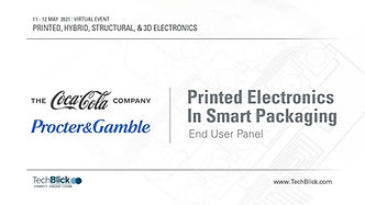 11 May 2021   Printed Electronics In Smart Packaging   End User Panel (Teaser)