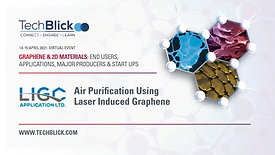 15 April 2021 | LIGC | Air Purification Using Laser Induced Graphene | Teaser