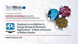 15 April 2021 | Raymor Industries & PPG CIC | Graphene As An Additive In Energy Storage | Teaser