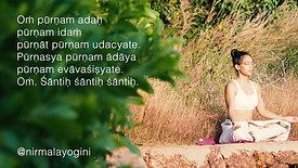 Purnam Mantra