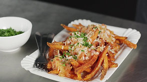 Lamb Weston Sweet Potato Fries Nacho Style