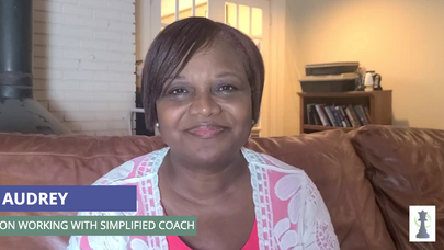 Audrey on working with Simplified Coach