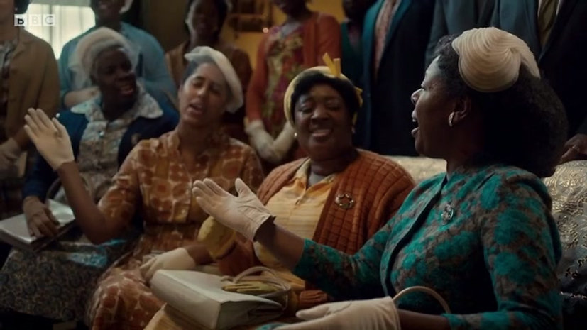 'Amazing Grace' performance on 'Call The Midwife'