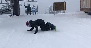 Team Snowboarding Trip