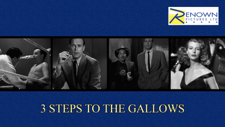 3 Steps To The Gallows (12+)