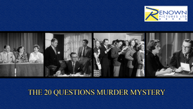 The 20 Questions Murder Mystery (16+)