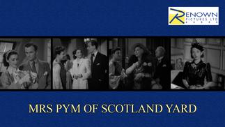 Mrs Pym Of Scotland Yard (12+)