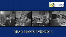 Dead Man's Evidence (Parental Guidance)