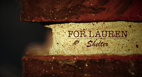 For Lauren: Shelter