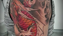 Koi Fisch Tattoo
