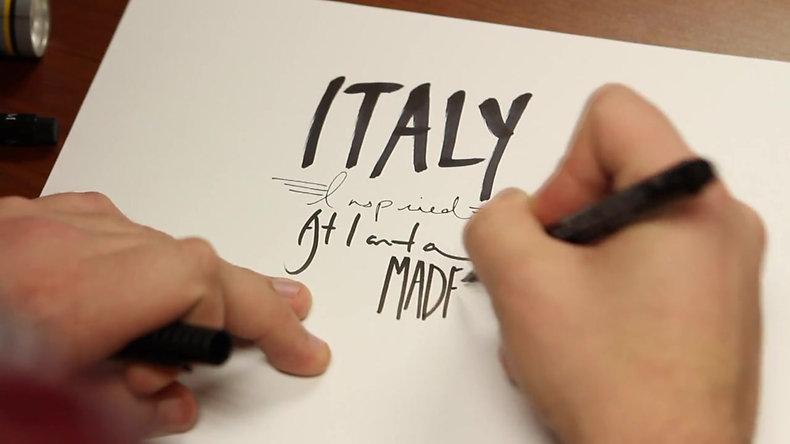 Italy Inspired. Atlanta Made.