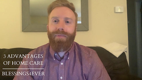 3 ADVANTAGES OF HOME CARE