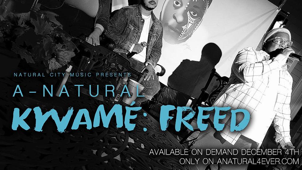 A-natural - KWAMÉ: FREED