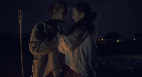 The Pale Moonlight music video
