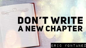 Don't Write A New Chapter