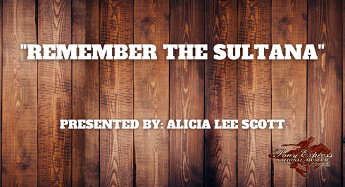 Remember the Sultana - Alicia Lee Scott