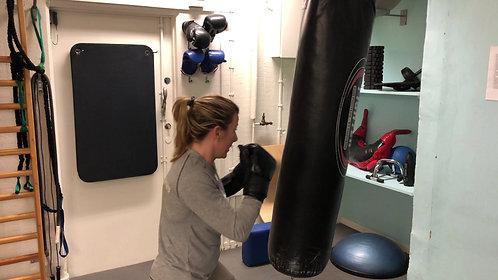 Boxning med Sanna rond 2