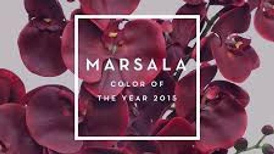 Marsala - Color of 2015