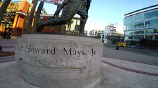 WIllie Mayes Sculture - AT & T Park  - 1080p