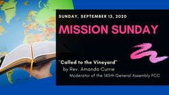 Called to the Vineyard - September 13, 2020