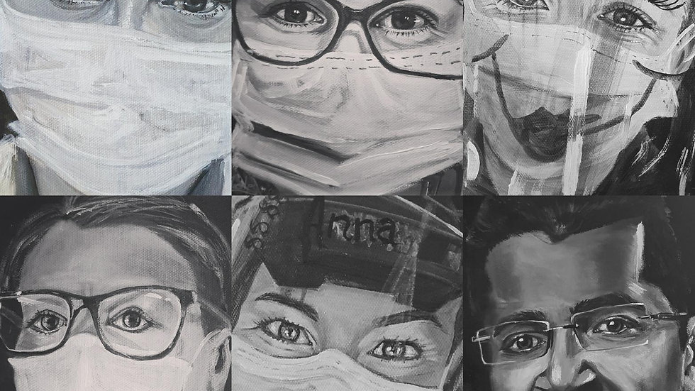 Portrait's for NHS Heroes