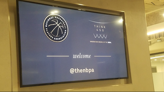 Meatballs and Small bites at the NBA Players Association office for the NBA Finals!