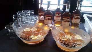 Lunch at the Brooklyn Museum with Mount Gay Rum