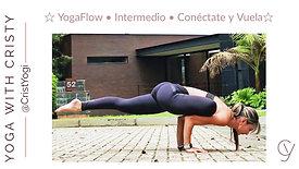 YogaFlow ☆ Conectate y Vuela ☆ Eka Pada Galavasana