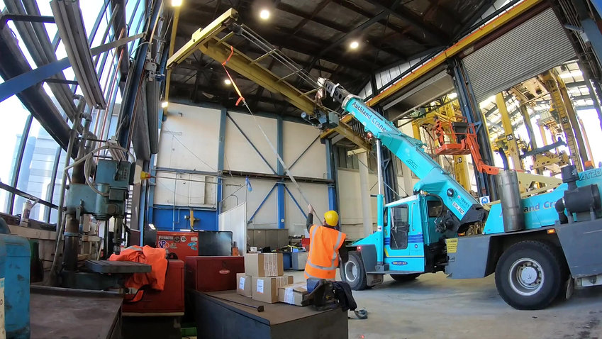 3t and 2t Crane Install