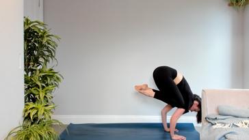Crow Yoga Class - Livestream Replay