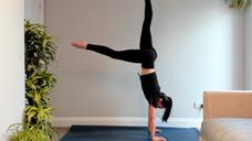 Handstand Yoga Class - Livestream Replay