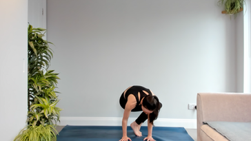 Side Crow Yoga Class - Livestream Replay