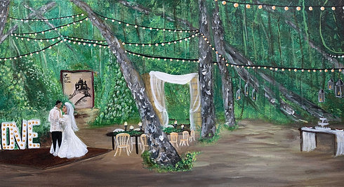 Luna Bella Ranch Live Painting