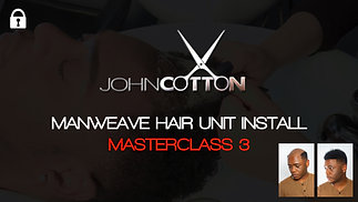 The Man Weave Masterclass by John Cotton -Class 3 -Reinstall