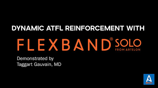 Dynamic ATFL Recon with FLEXBAND Solo