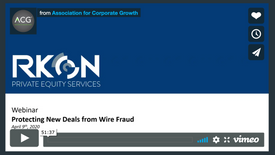 Protecting New Deals from Wire Fraud